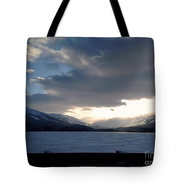 Tote Bag featuring the photograph Mckinley by James Lanigan Thompson MFA