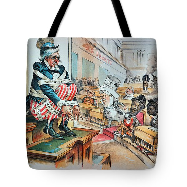 Mckinley Tariff Act, 1894 Tote Bag by Granger
