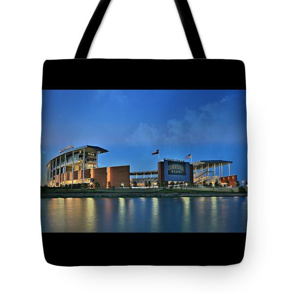 Mclane Stadium -- Baylor University Tote Bag
