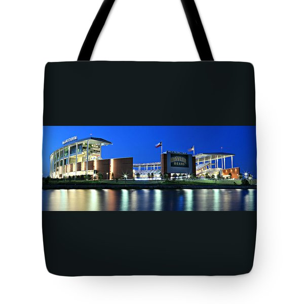 Mclane Stadium Panoramic Tote Bag