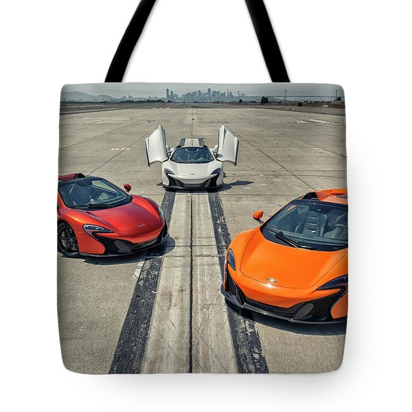 #mclaren #650s #party Tote Bag