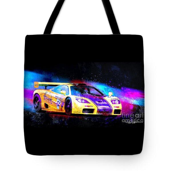 Mclaren F1 Tote Bag