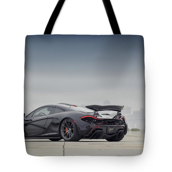 Tote Bag featuring the photograph #mclaren Mso #p1 by ItzKirb Photography