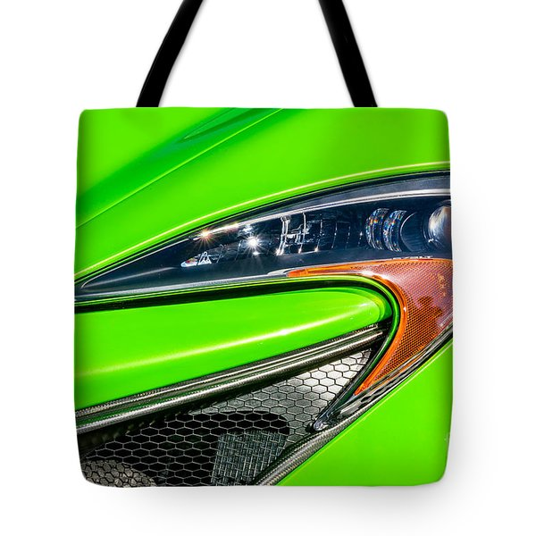 Mclaren P1 Headlight Tote Bag by Aloha Art