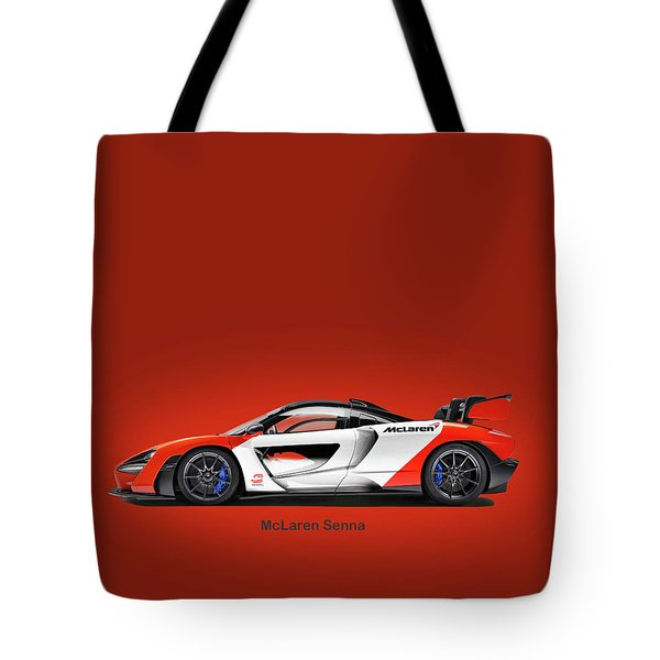 Mclaren Senna Tote Bag