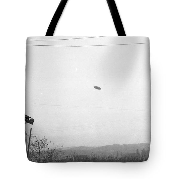 Mcminnville Ufo Sighting, 1950 Tote Bag