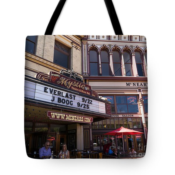 Mcnears Mystic Theatre And Music Hall In Petaluma California Usa Dsc3748 Tote Bag