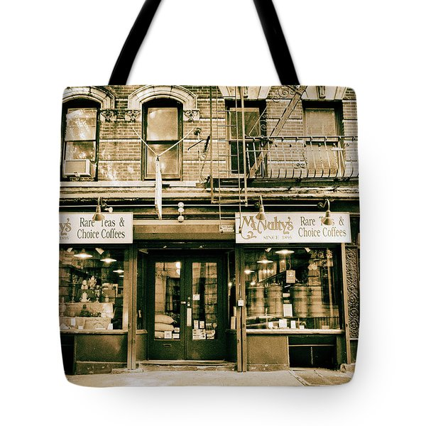 Mcnulty's Tea And Coffee Tote Bag