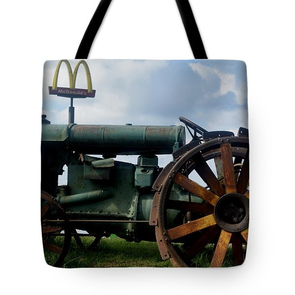 Mctractor Tote Bag by Gary Smith