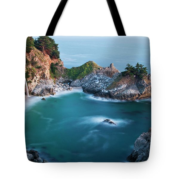 Tote Bag featuring the photograph Mcway Bay by Dan McGeorge