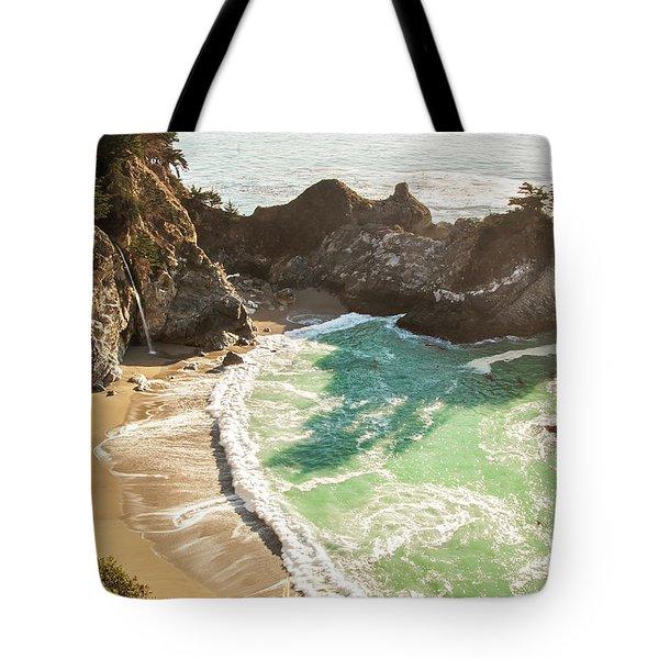 Mcway Falls, California Tote Bag
