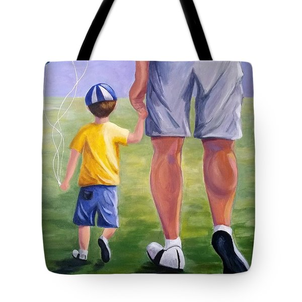 Me And My Dad Tote Bag