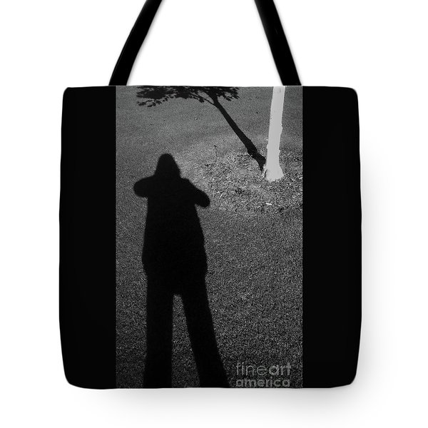 Me And My Shadow Tote Bag by Nareeta Martin