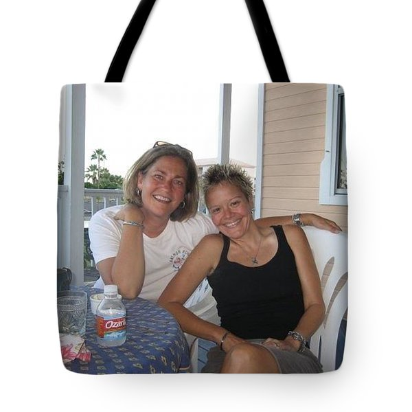 Me And Stace Tote Bag by Patti Schermerhorn