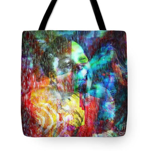 Me Et Moi Tote Bag by Fania Simon