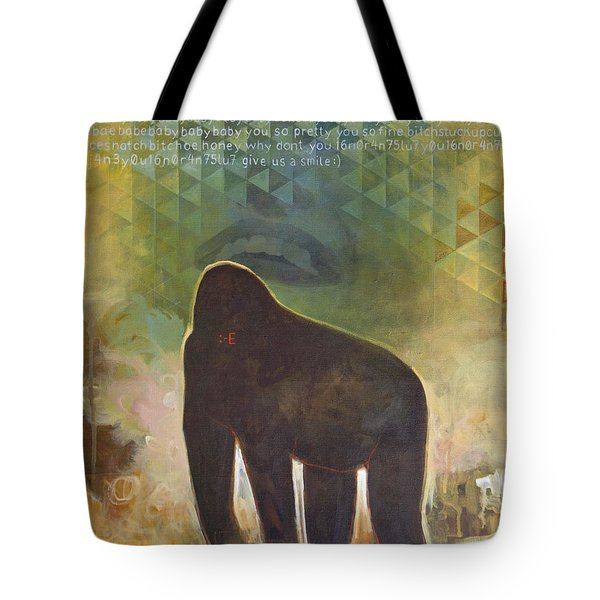 Me Jane Tote Bag by Sandra Cohen