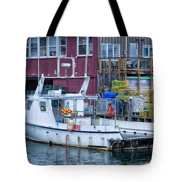 Me Lobster Boat Tote Bag