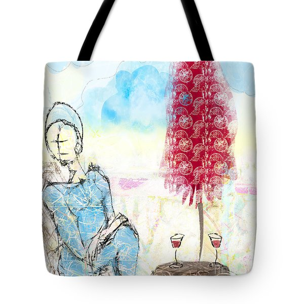 Me, Myself And Wine Tote Bag