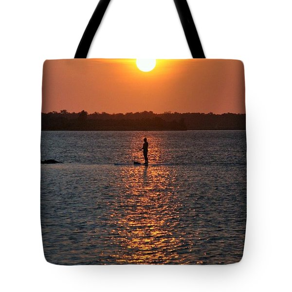 Me Time Tote Bag by John Glass