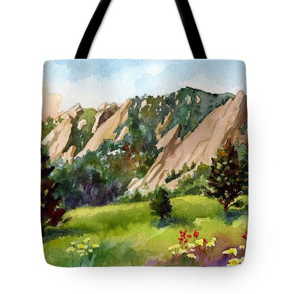 Meadow At Chautauqua Tote Bag