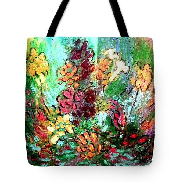 Meadow Garden Tote Bag