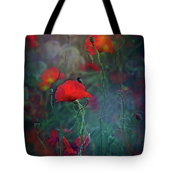 Meadow In Another Dimension Tote Bag