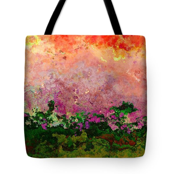 Meadow Morning Tote Bag