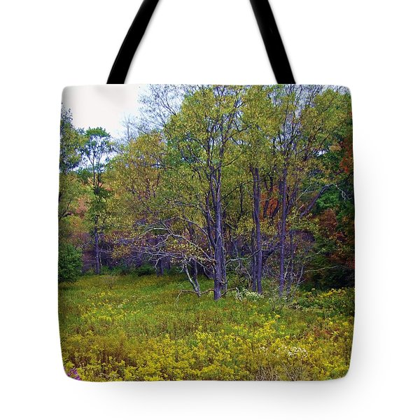 Meadow Of Gold Tote Bag