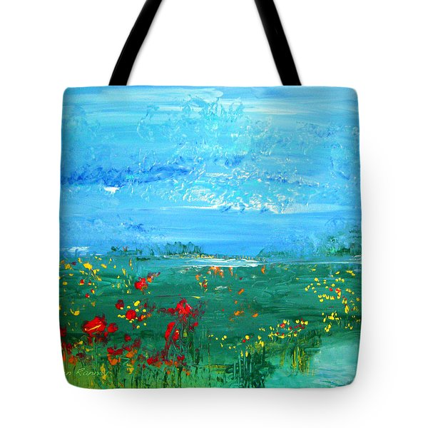 Meadow Pond By Colleen Ranney Tote Bag