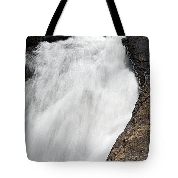 Meadow Run Water Slide 1 Tote Bag