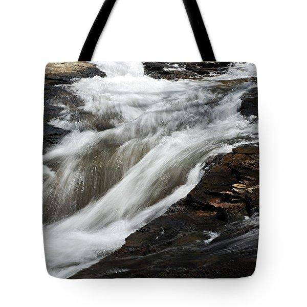 Meadow Run Water Slide 2 Tote Bag