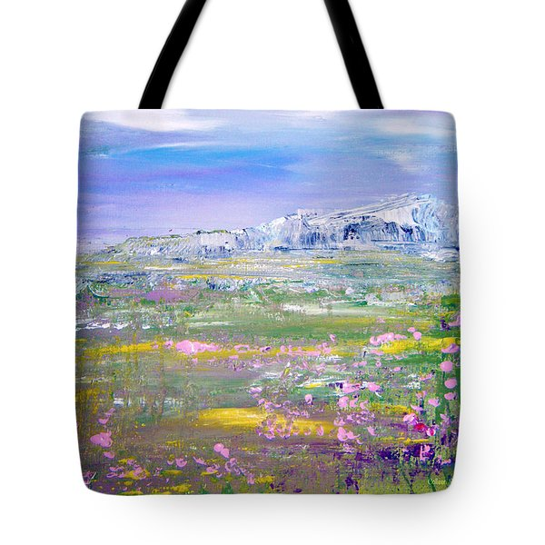 Meadow Sky By Colleen Ranney Tote Bag