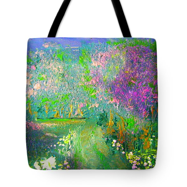 Meadow Trail By Colleen Ranney Tote Bag