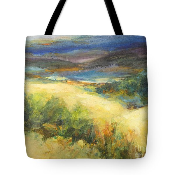 Meadowlands Of Gold Tote Bag
