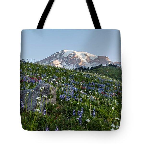 Meadows Of Glory Tote Bag