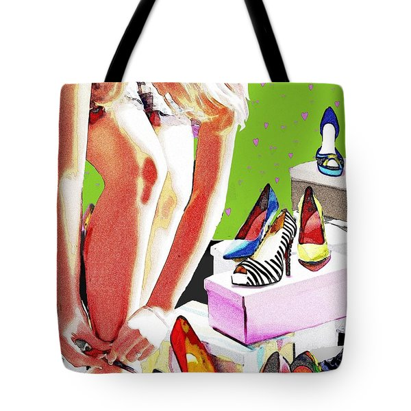 Meagans Dream Detail Tote Bag by Jann Paxton
