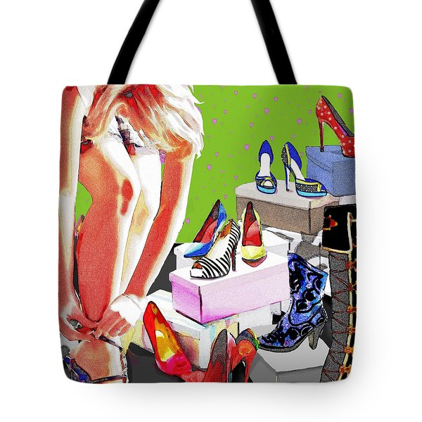 Meagans Dreams 2 Tote Bag by Jann Paxton