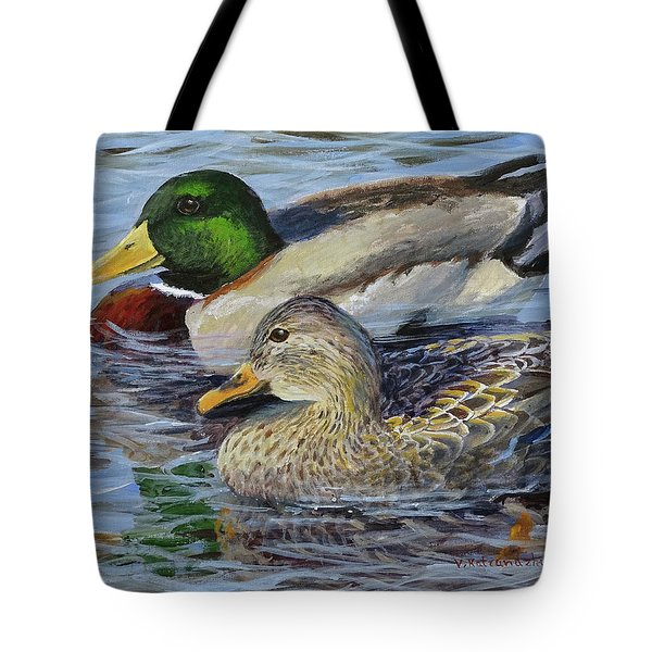 Meaghan And Jamie Tote Bag