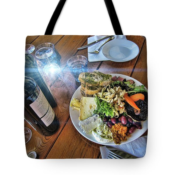 Meal -fit For A King Tote Bag by Douglas Barnard