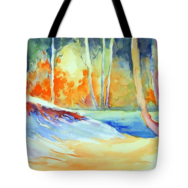 A Secret Path Tote Bag