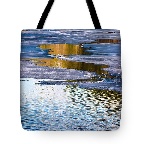 Meandering Towards Spring Tote Bag