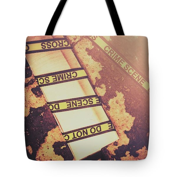 Meat Cleaver At Crime Spot Tote Bag