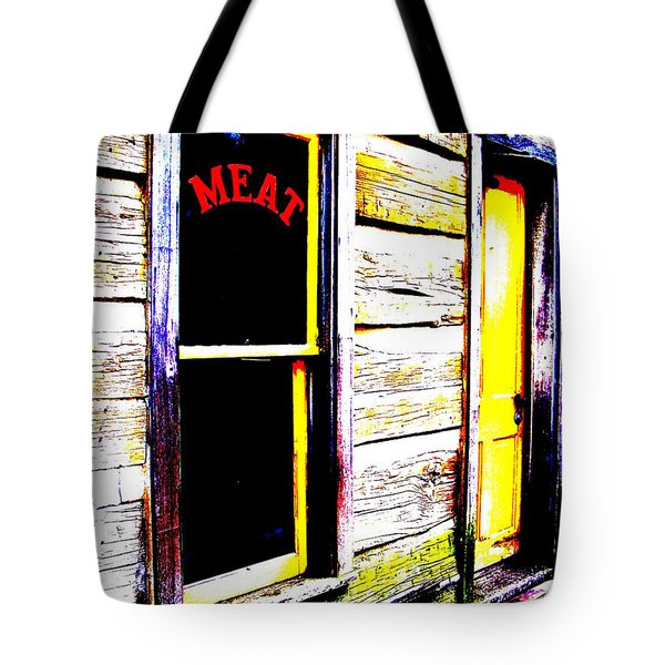 Meat Market Tote Bag by Ed Smith