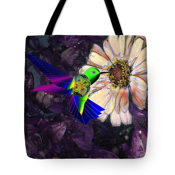 Mecha Whirlygig Tote Bag by Iowan Stone-Flowers