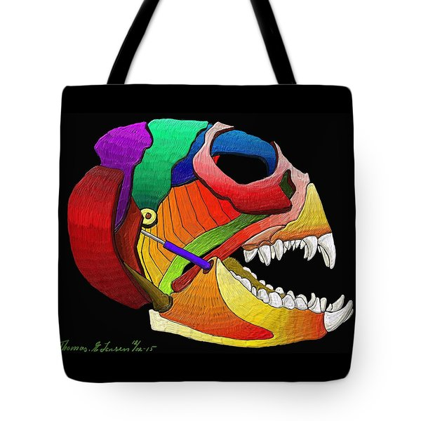 Mechanic Fishhead Tote Bag
