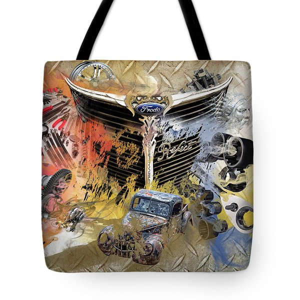 Mechanic Melody Tote Bag