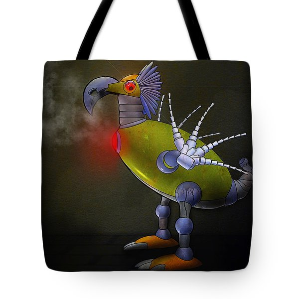 Mechanical Bird Tote Bag