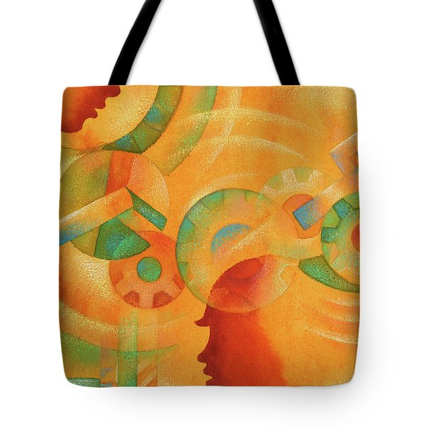 Mechanical Minds Tote Bag