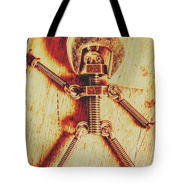 Mechanical Nut  Tote Bag