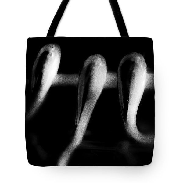 Tote Bag featuring the photograph Mechanical Seeds by Joseph Westrupp